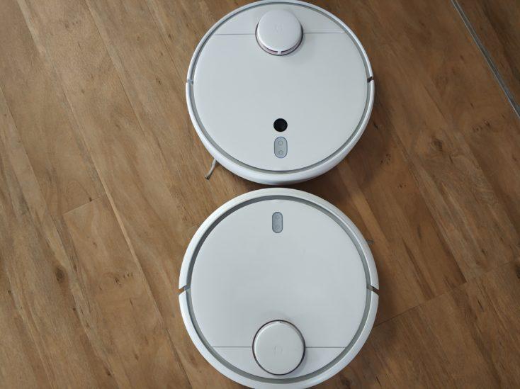 Xiaomi Mi Robot 1S y Mi Robot Vacuum frente a frente