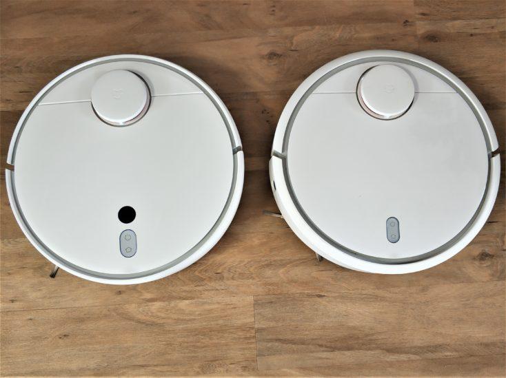 Diseño del Mi Robot 1S y del Mi Robot Vacuum