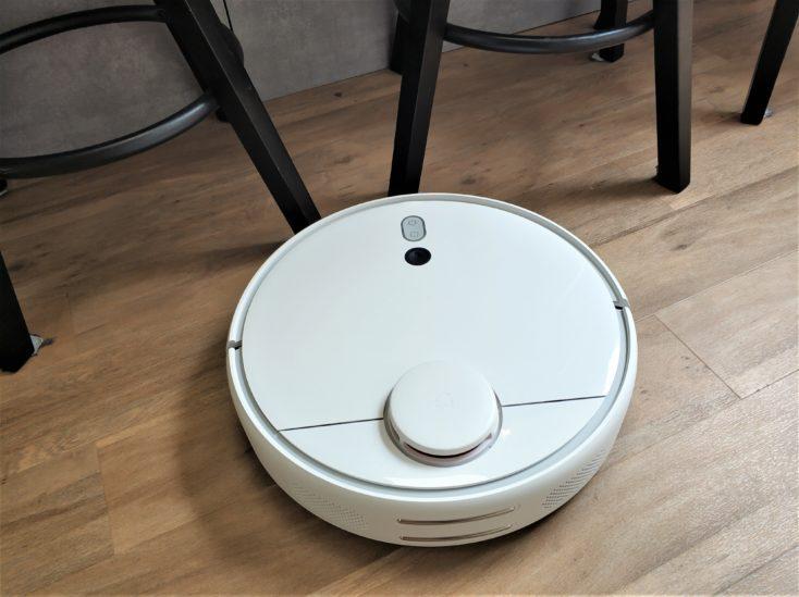 Detección de obstáculos del Mi Robot 1S