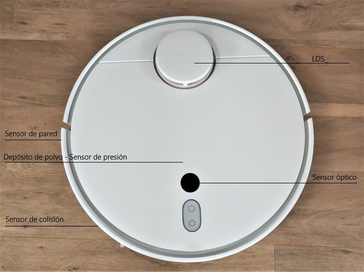 Sensores del Mi Robot 1S