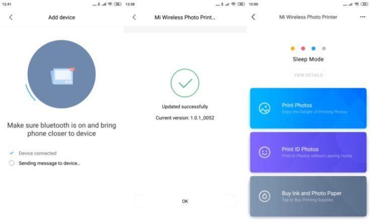 Capturas de pantalla de la App