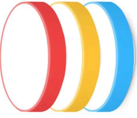 Yeelight lámpara LED de techo inteligente en diferentes colores
