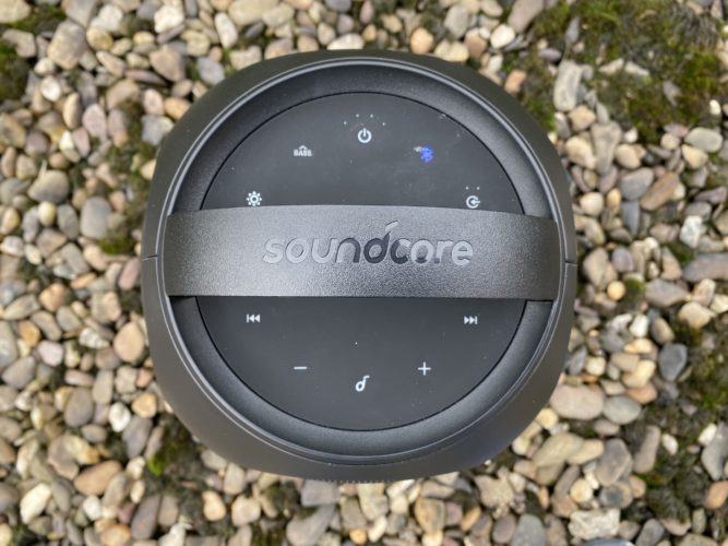 Botones del bluetooth Anker Soundcore Rave Mini