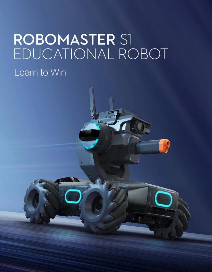 Diseño del Robomaster S1