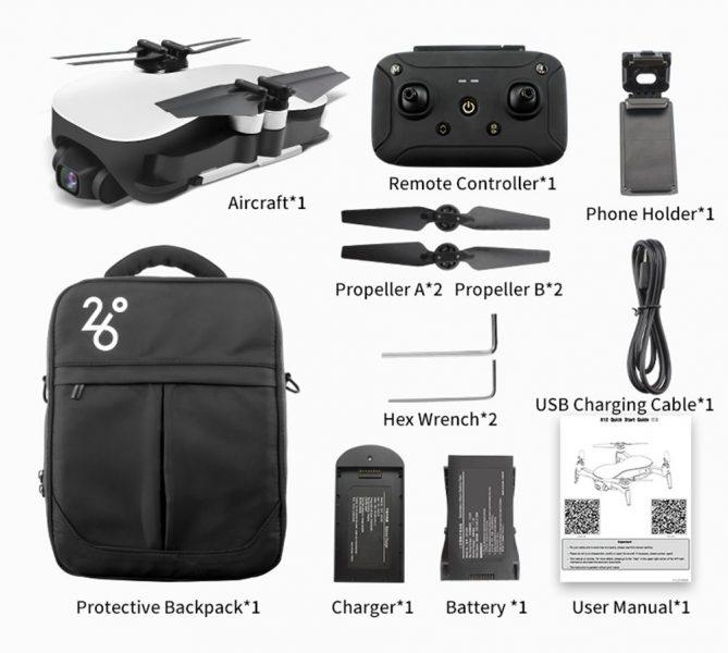 Accesorios del drone JJRC X12 Aurora