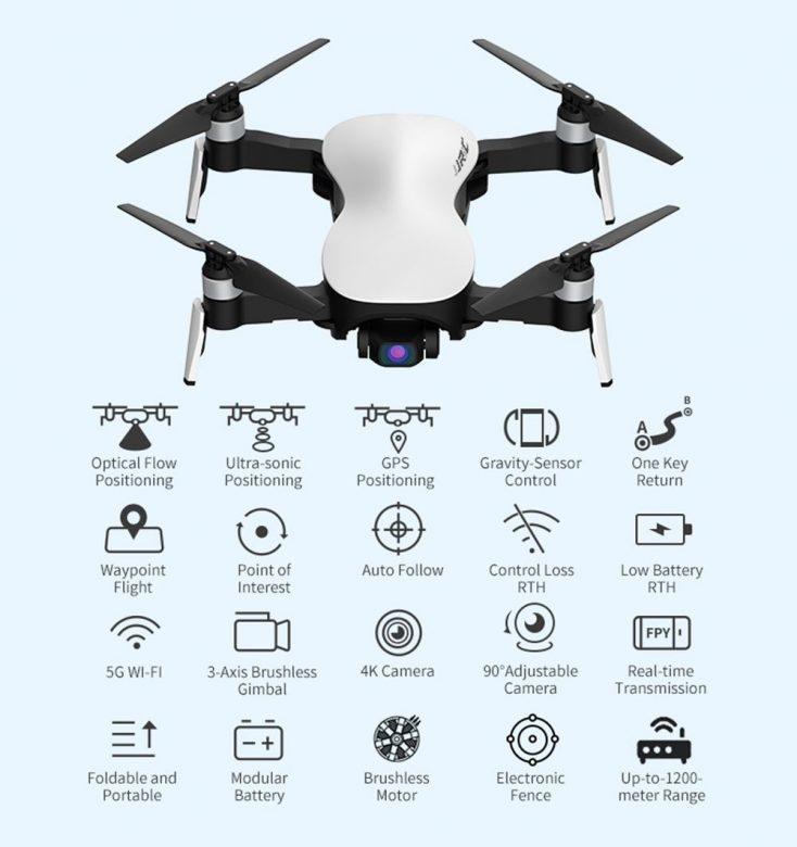 Funciones del Drone JJRC X12 Aurora