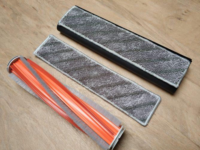 Rodillo y mopas de la aspiradora inalámbrica Roidmi NEX