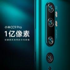 Poster promocional del nuevo Xiaomi Mi CC9 Pro