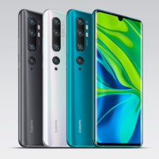 Distintos colores del Xiaomi Mi Note 10