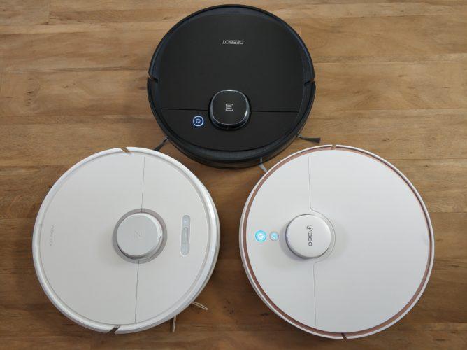 Ecovacs Deebot Ozmo 950, Roborock S6 y 360 S7