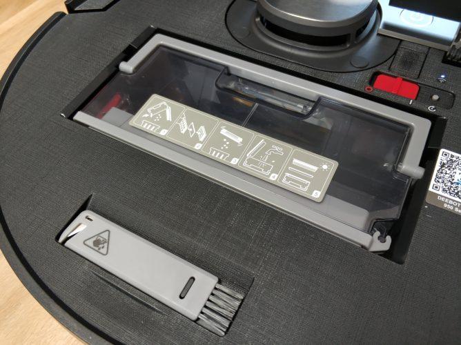 Depósito de polvo del Ecovacs Deebot Ozmo 950