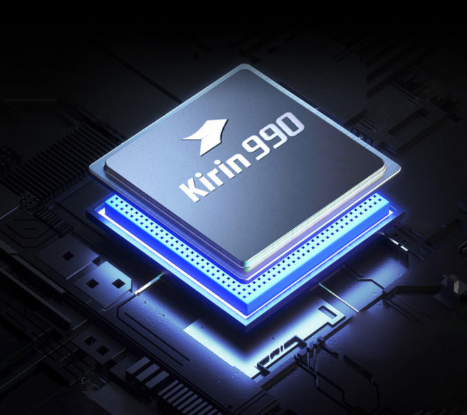 Chip del procesador Kirin 990