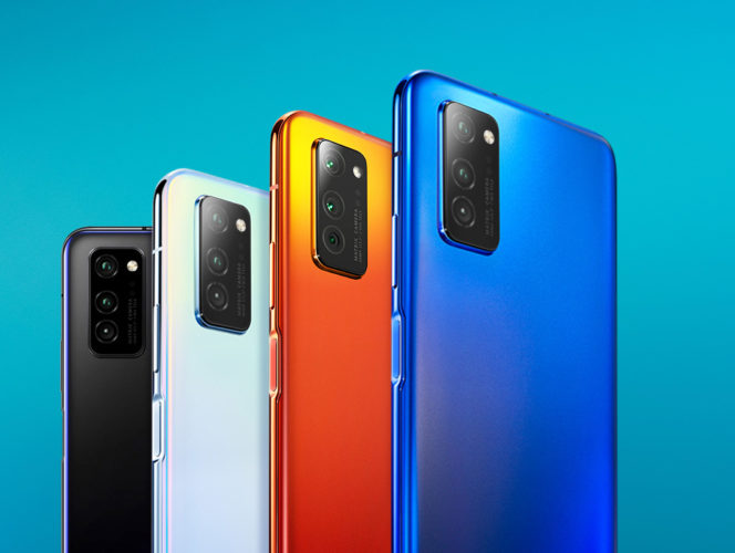Honor V30 Pro en distintos colores