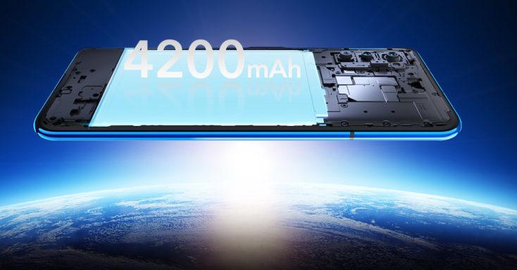 Honor V30 con 4200 mAh de batería