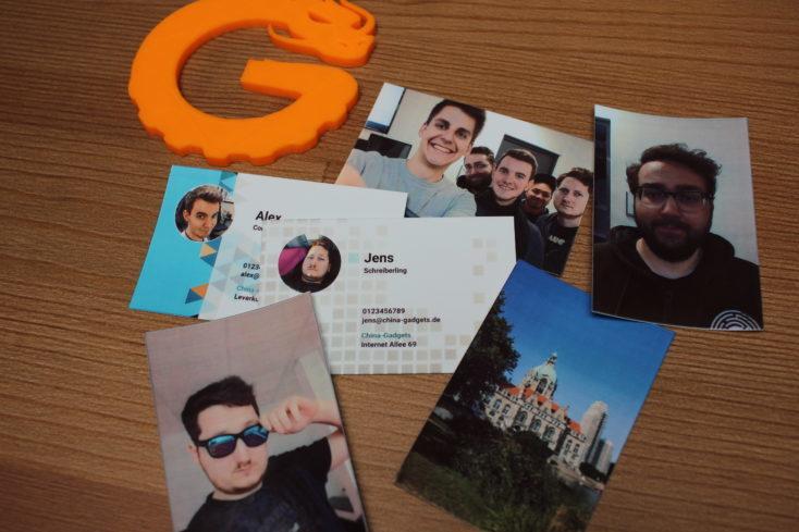 Fotos de prueba con la impresora Huawei