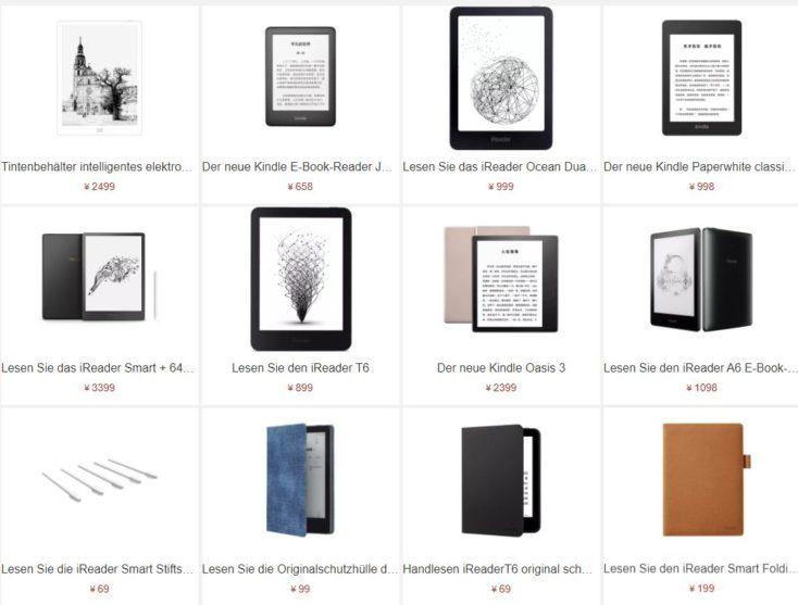 Lectores de libros electrnicos en Xiaomi Youpin