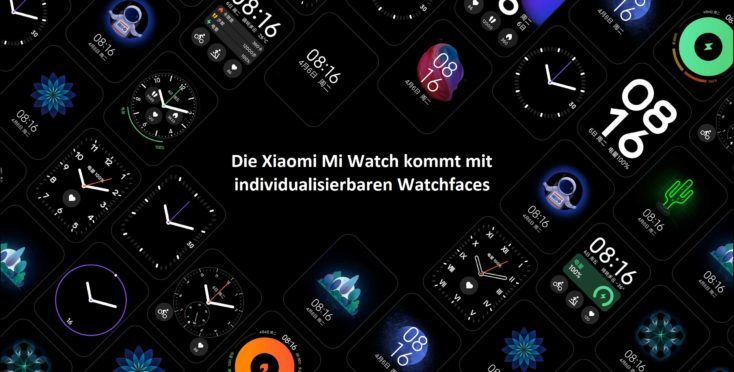 Esferaspersonalizables del Mi Watch