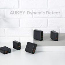Distintos modelos de cargadores Aukey