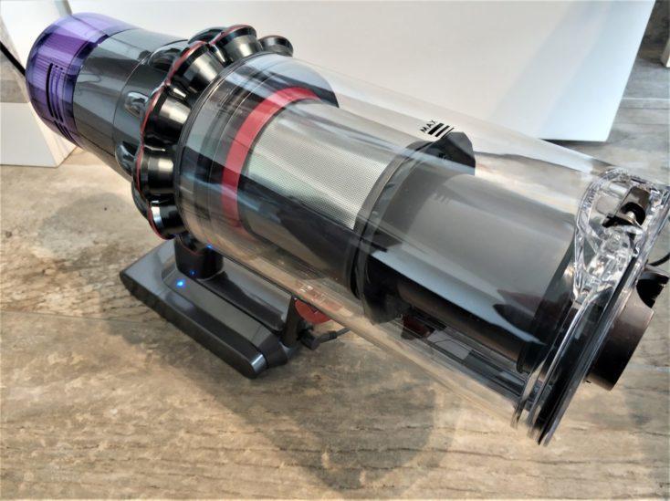 Depósito de polvo de la aspiradora inalámbrica Dyson V11 Absolute
