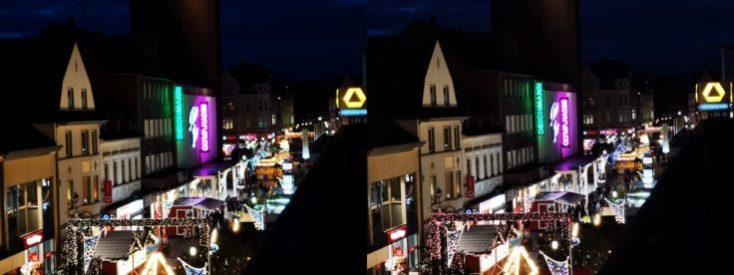 Fotos de prueba desde el tejado con el modo noche y modo normal con zooom de 3 aumentos
