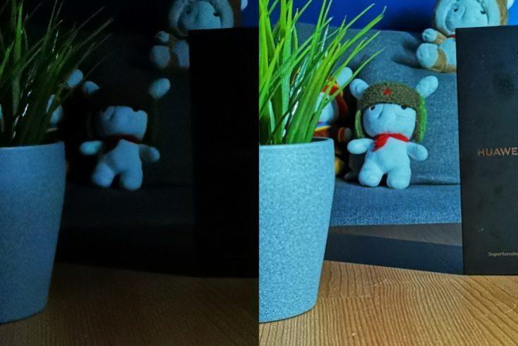 Fotos de prueba con el modo noche y el zoom