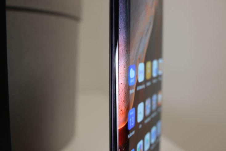 Pantalla en cascada lateral del Huawei Mate 30 Pro
