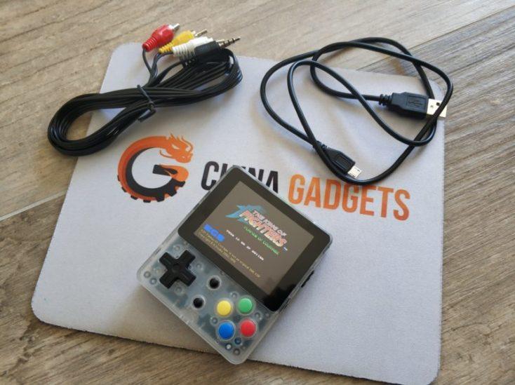 Accesorios incluidos con la consola retro LDK Game