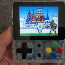 Juego The Lengend of Zelda en la consola