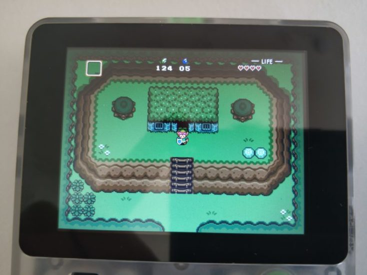 Commienzo del juego The Legend of Zelda