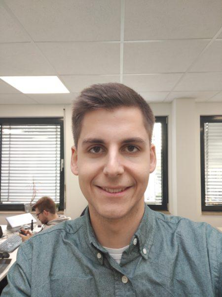 Selfie con la cámara frontal
