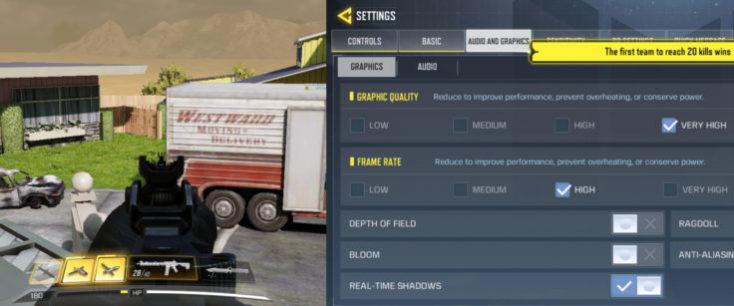 Jugando a Call of Duty con el Realme X2 Pro