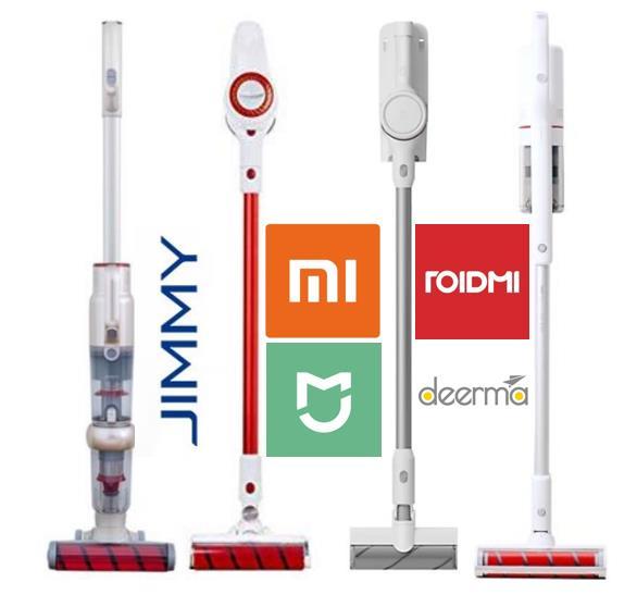 Aspiradoras inalámbricas de empresas subsidiarias de Xiaomi