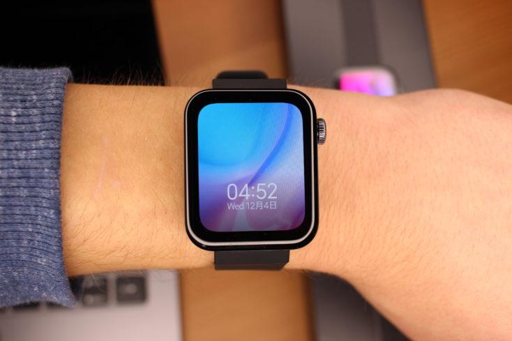 Xiaomi Mi Watch en la muñeca