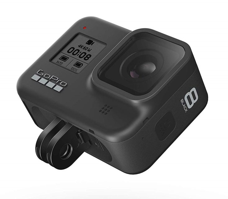 Gopro Hero 8 Black con soporte integrado