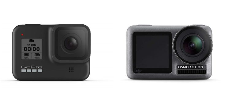 Gopro Hero 8 Black y DJI OSMO