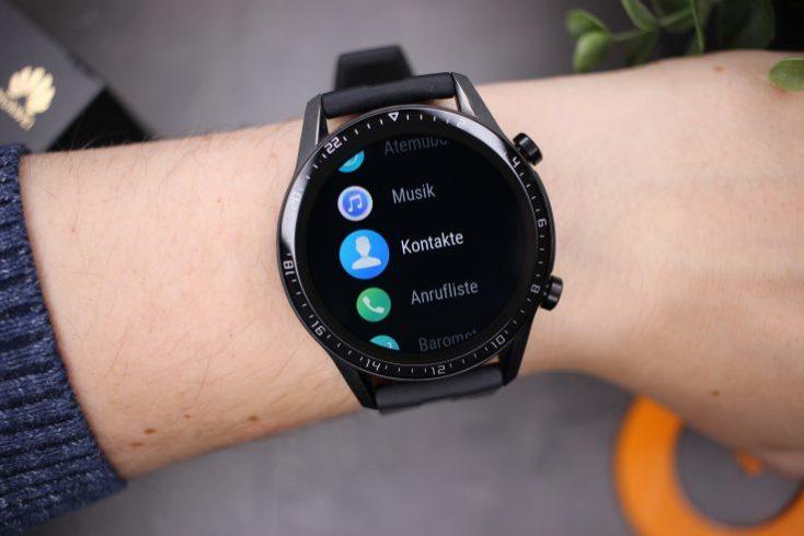Aplicaciones del smartwatch Huawei Watch GT 2