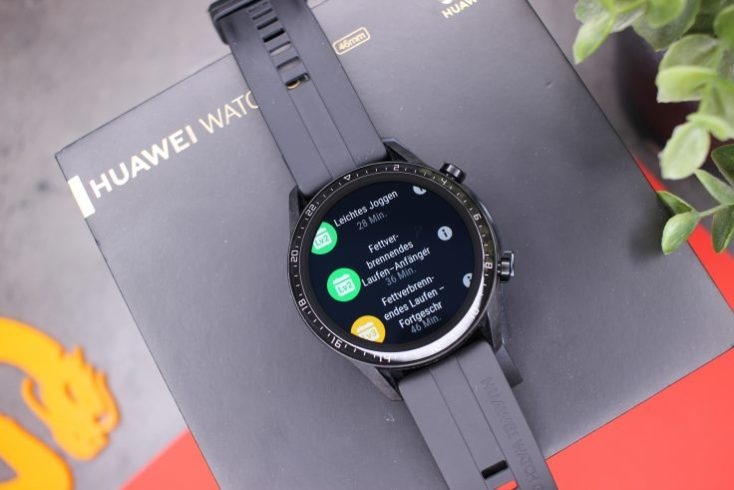 Distintos circuitos de carrera en el smartwatch Huawei Watch GT 2