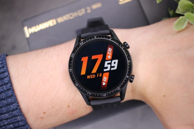 Diseño del smartwatch Huawei Watch GT 2