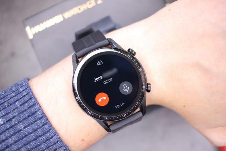 Llamada en el smartwatch Huawei Watch GT 2