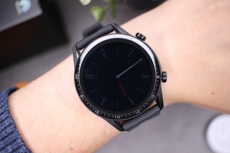 Always on display activado en el smartwatch Huawei Watch GT 2
