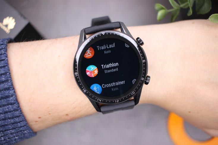 Modos de deporte del smartwatch Huawei Watch GT 2