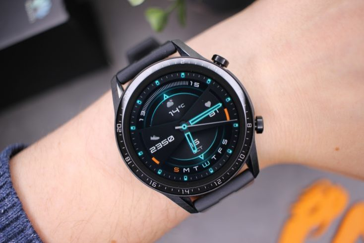 Pantalla del smartwatch Huawei Watch GT 2