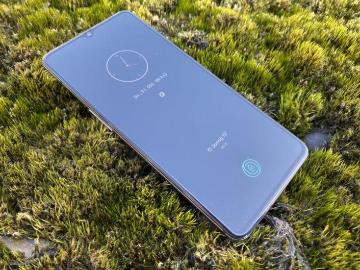 Modo de pantalla inactiva del OnePlus 7T