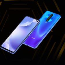 Diseño de la pantalla y el dorso del Pocophone X2