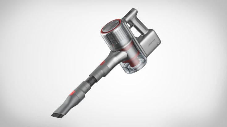 Accesorio de mano de la Roborock H6 con un cepillo