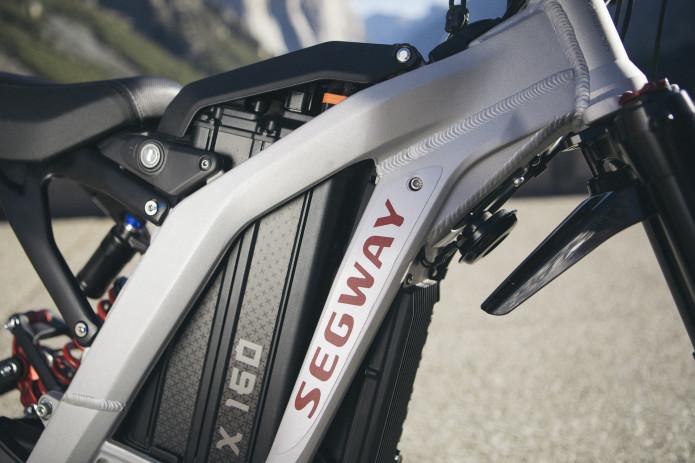 Batería de litio de la moto eléctrica de cross Segway Dirt e-Bike