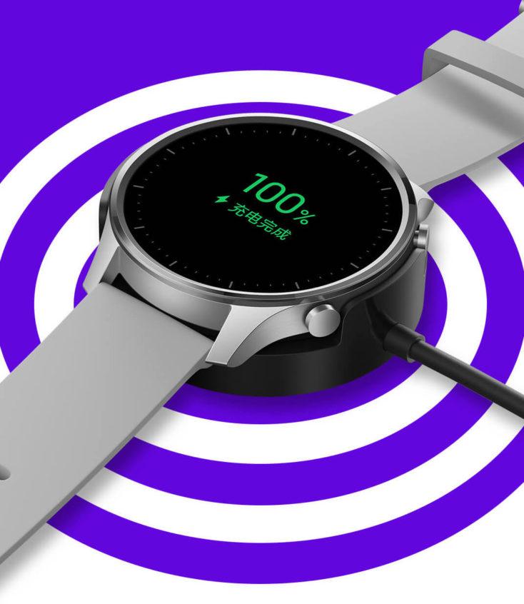 Cargando la batería del Xiaomi Mi Watch Color