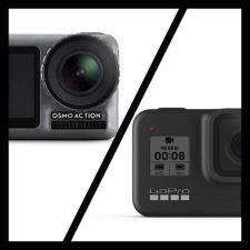 Comparación de las cámaras de acción GoPro Hero 8 Black y DJI Osmo Action