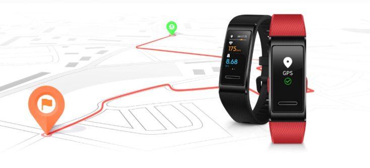 Pulsera de actividad Huawei Band 4 Pro con GPS
