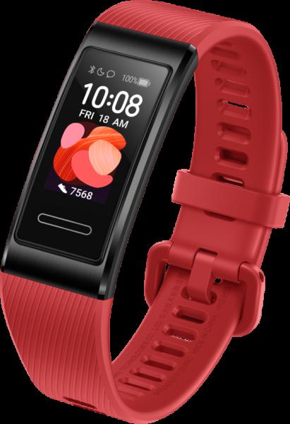 Pulsera de actividad Huawei Band 4 Pro en rojo
